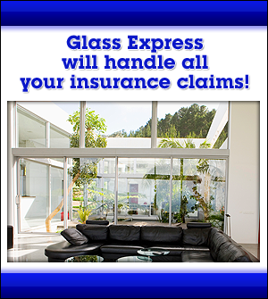 Residential Glass - Long Island, NY - Glass Express - Glass Express will handle all your insurance claims!