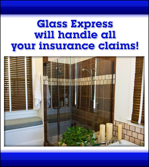 Interior Glass Door - Long Island, NY - Glass Express - Glass Express will handle all your insurance claims!